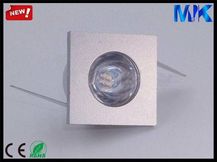 1W CE & AMP; ROHS Прошел Алюминий светодиодные лампы для дома