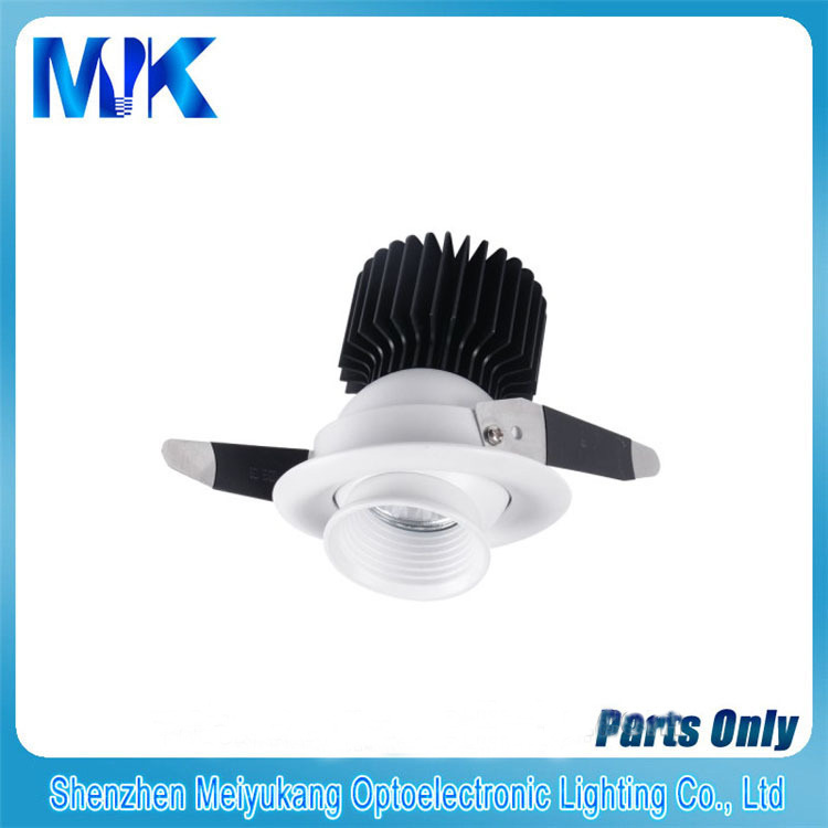 2015 High Quality 5 Year Warranty COB Latest led downlight housing parts