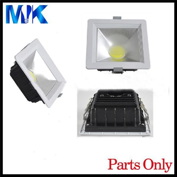 conduit parties de logement sans LED, pièces du boîtier du Spot, LED luminaire luminaire