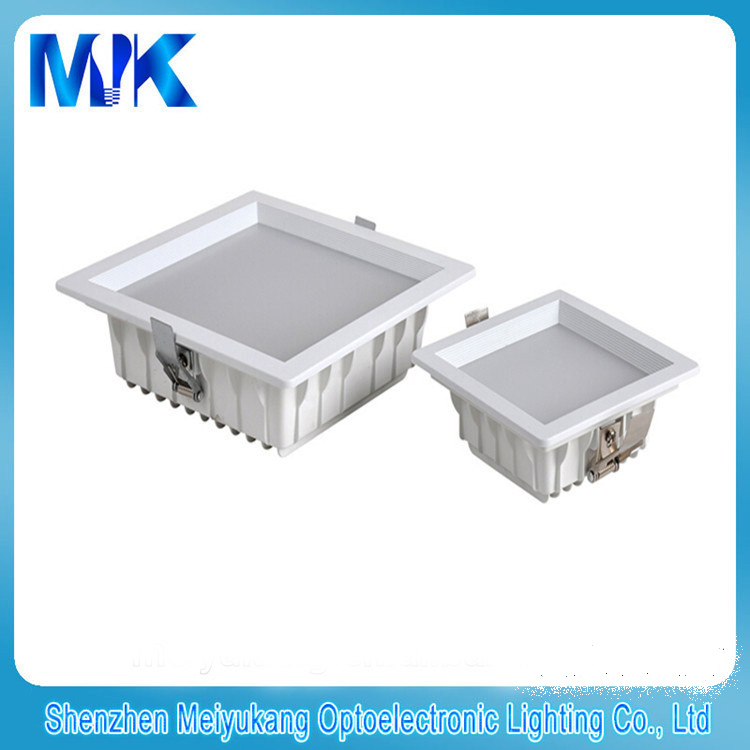 Hotel lighting High Lumen SMD LED Downlight, 12w dimmable LED Downlight