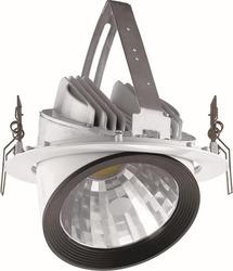 Profilé en aluminium LED 30W pivotant logements de lumière pcb 30w pivotant lumière boîtier avec CE