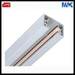 aluminum 1M/1.5M/2M/3M silver 3 line track rail, spot light track rail, 3 wire track rail