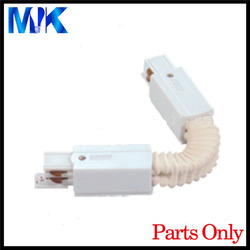 4 fils sur rails conector flexible pour rails de voie de LED